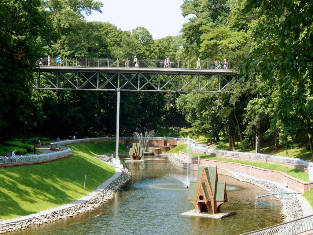 Парк Гомельского дворцового комплекса