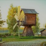 Деревня Верхник Мандроги