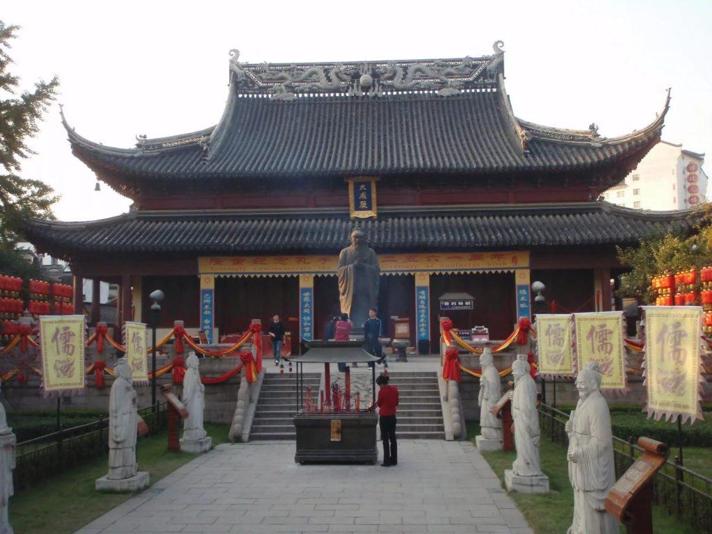 Храм Конфуция в Нанкине