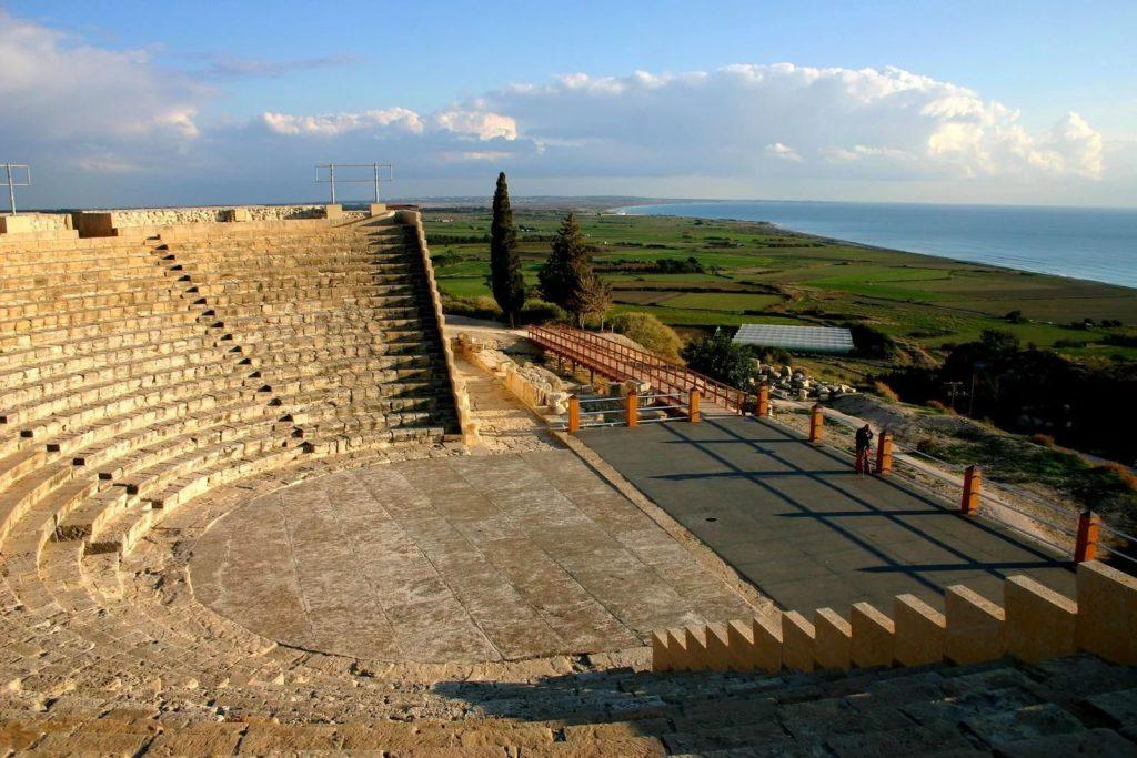 Город Курион близ Лимасола, Кипр