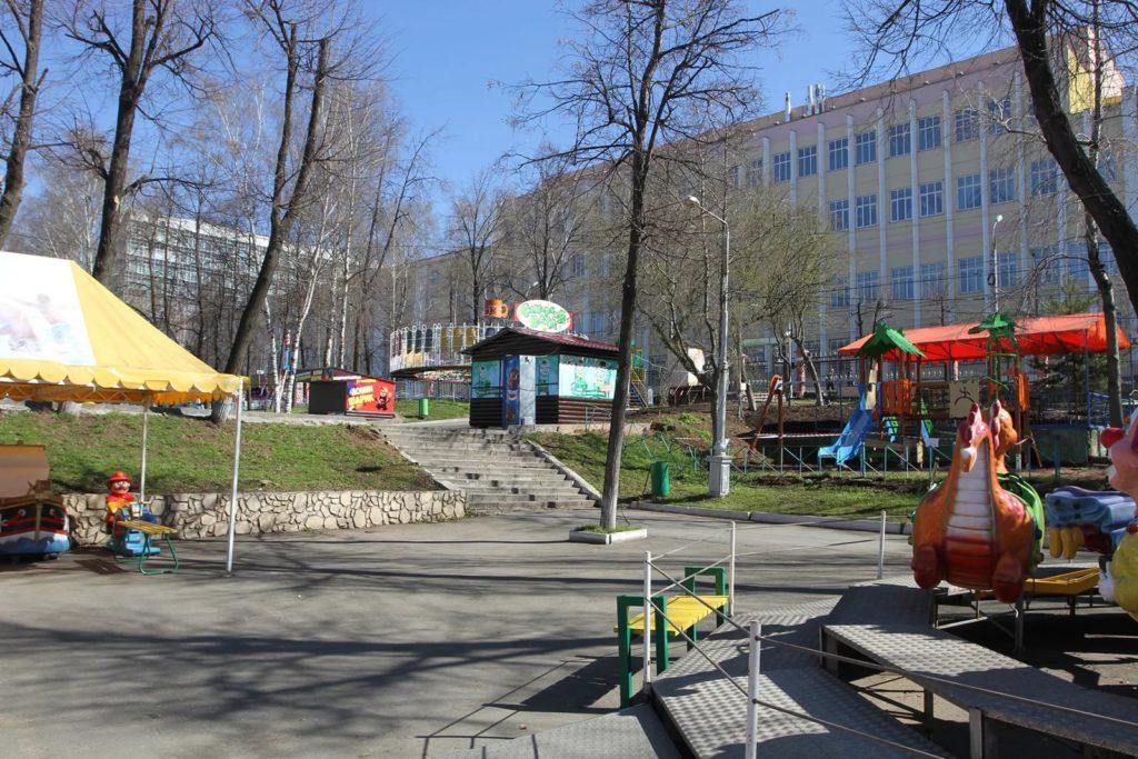 Летний сад в Ижевске