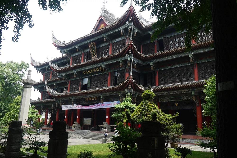 Монастырь Вэньшу в Чэнду