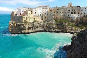 Город Бари в Италии