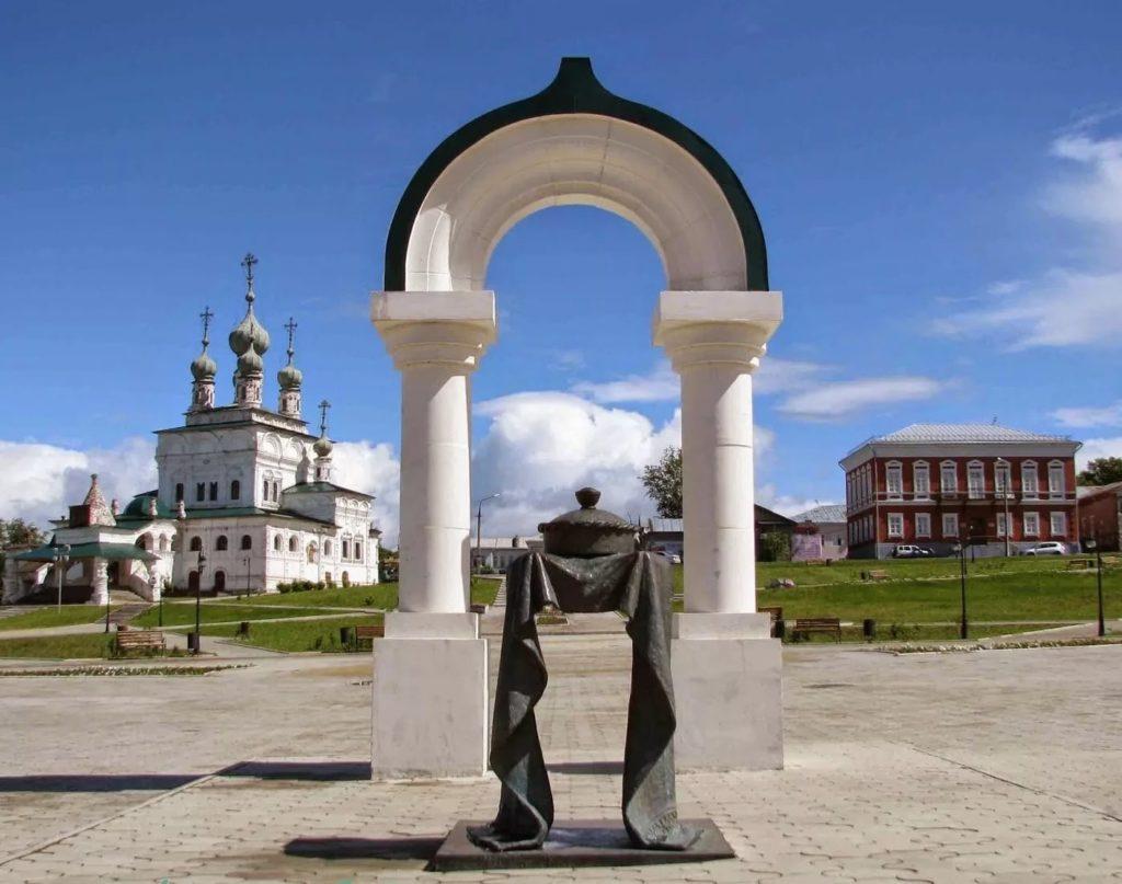 Памятник соли в Соликамске
