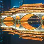 Город Чэнду в Китае