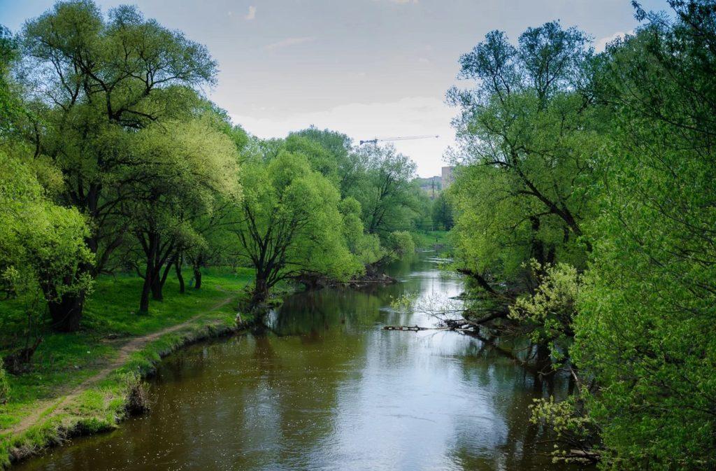 Река Нара в Наро-Фоминске
