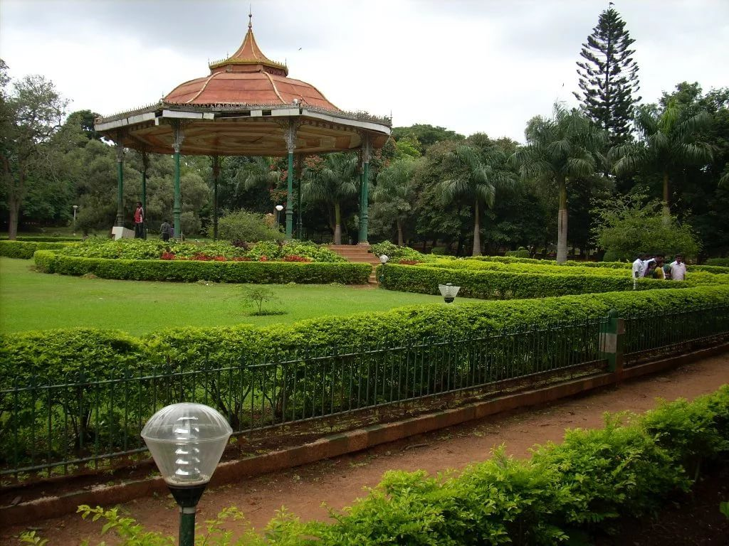 Парк Каббона в Бангалоре