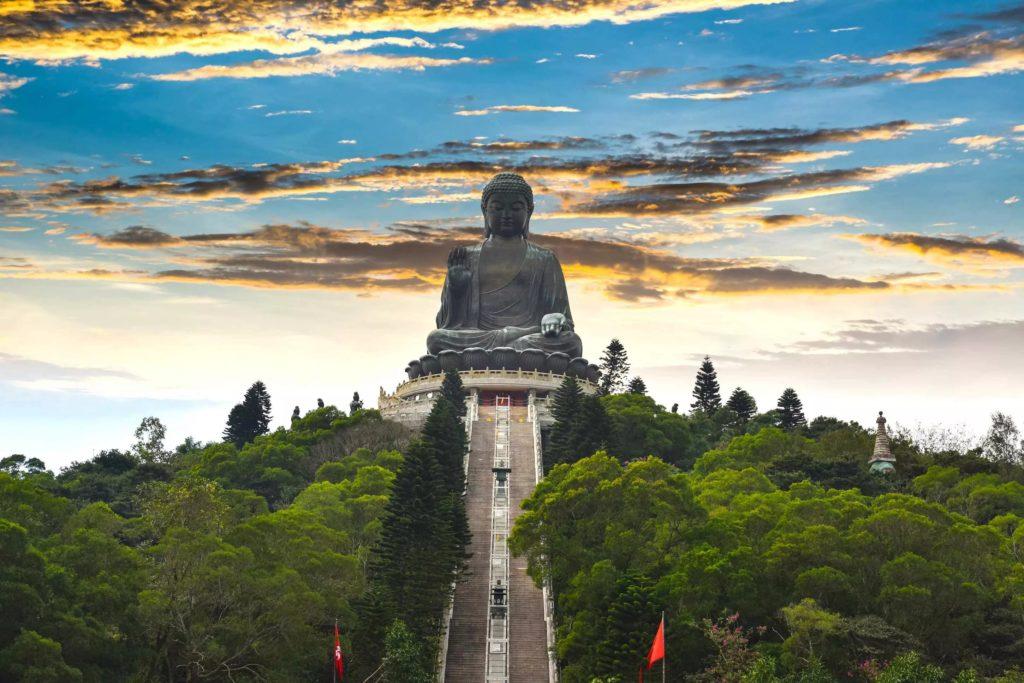 Большой Будда на о. Лантау, Гонконг
