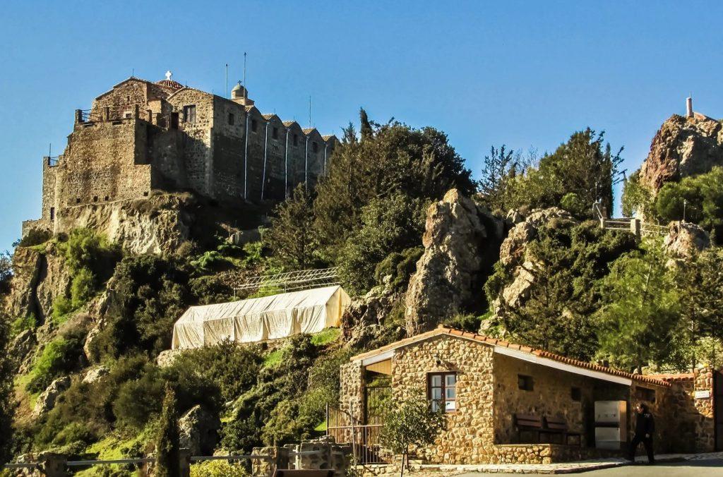 Монастырь Ставровуни, близ Ларнаки, Кипр