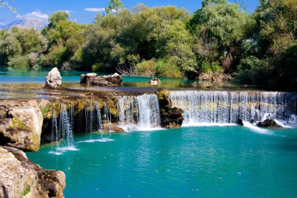 Водопад Манавгат, Сиде, Турция