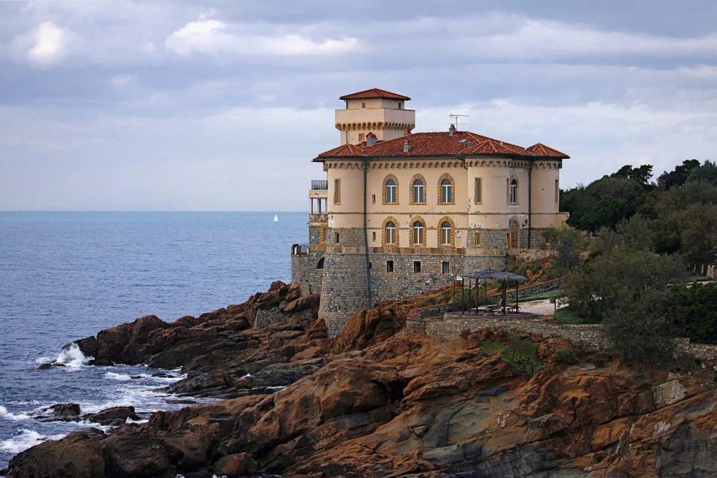 Замок Кастелло дель Боккале в Ливорно