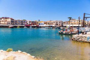 Город Ретимно на о.Крит