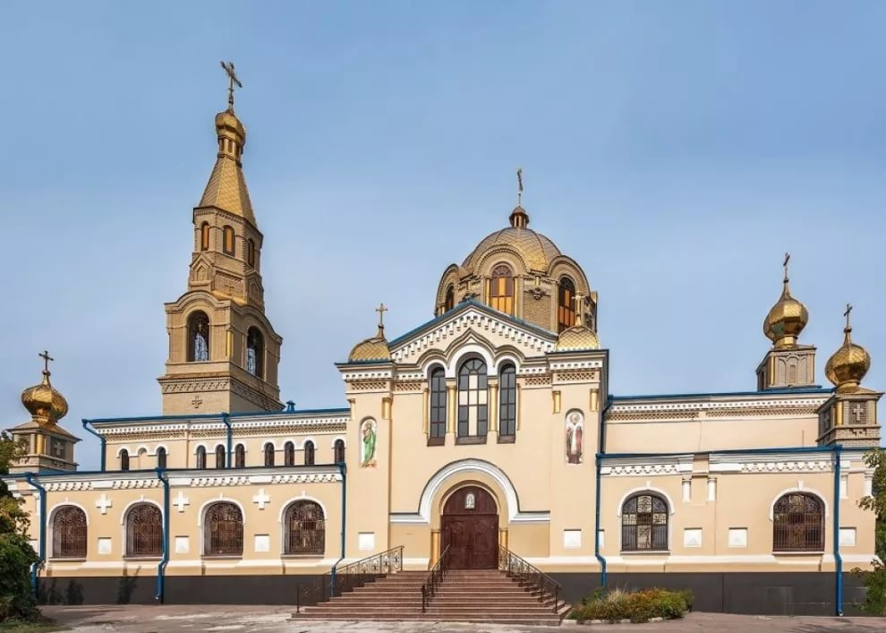 Свято-Петропавловский Кафедральный Собор Украинской Православной Церкви Московского патриархата в Луганске