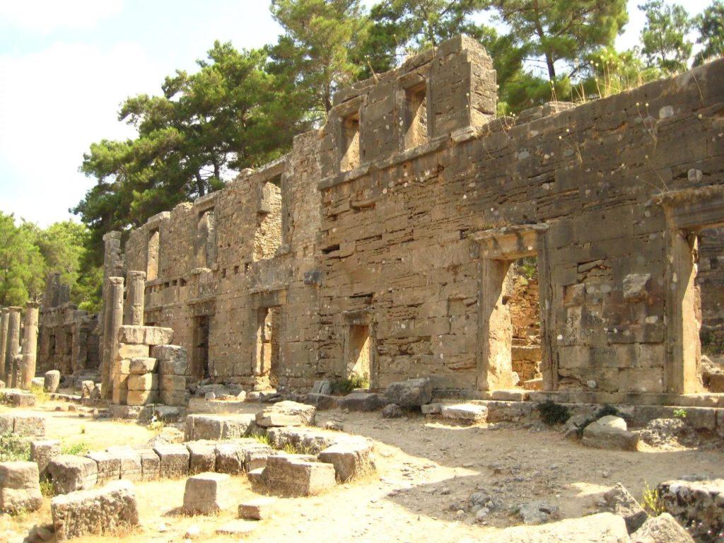 Античный город Селевкия в Турции