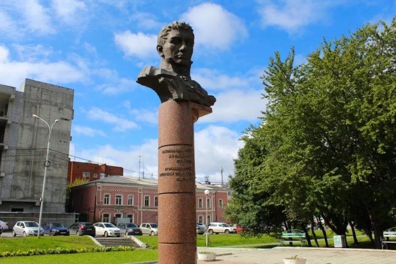 Памятник Демидову в Нижнем Тагиле