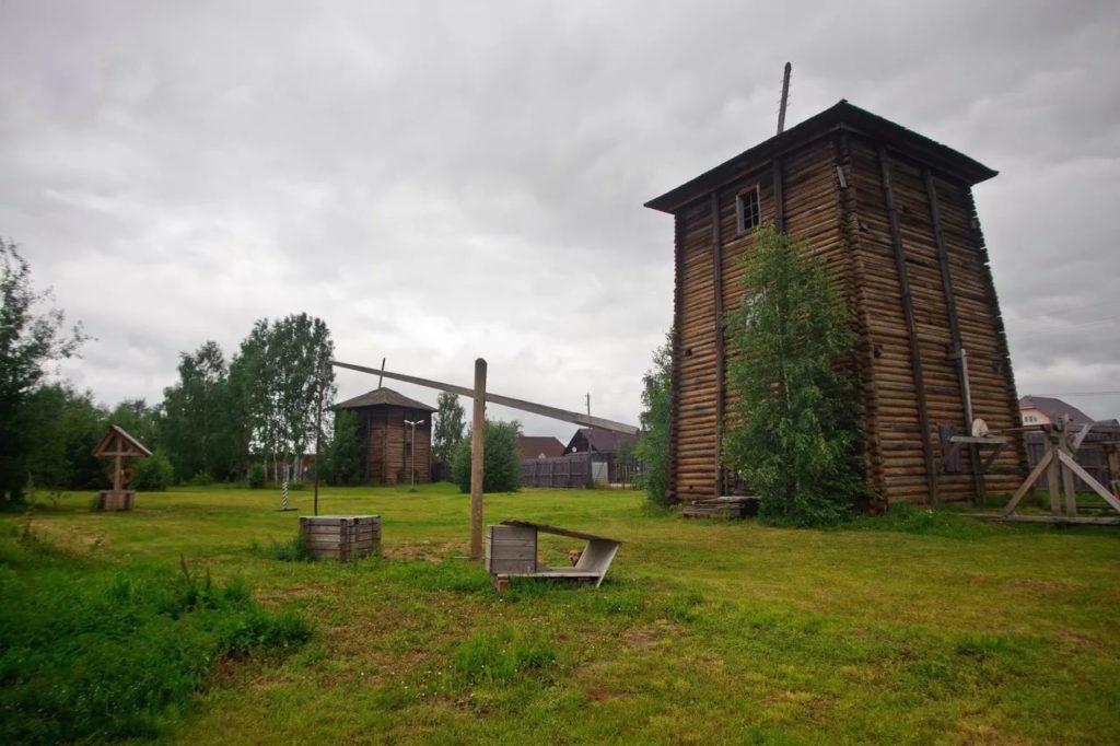 Усть-Боровской солеваренный завод близ Соликамска