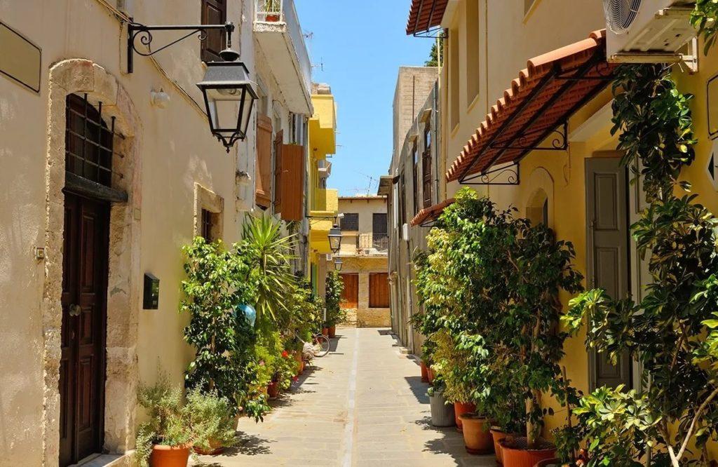 Улицы Ретимно, Крит