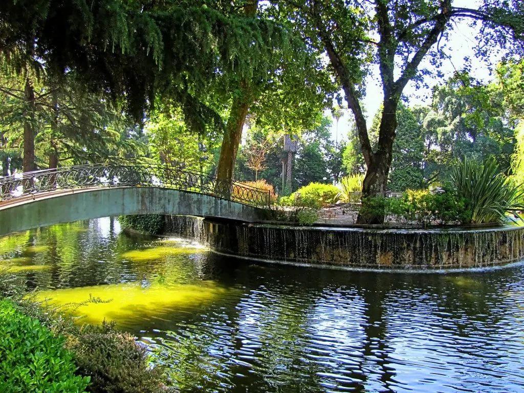 Парк Хрустального Дворца в г. Порту