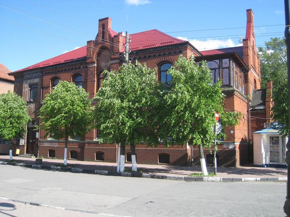 Здание почтамта в Зеленоградске
