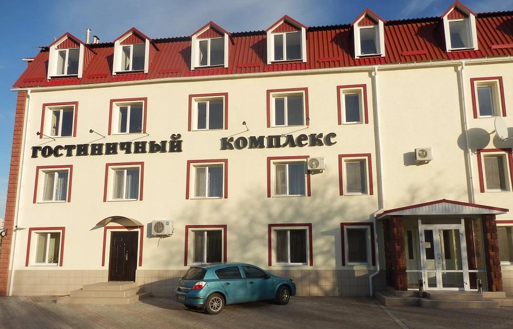 """Гостиничный комплекс """"Домино"""" в Луганске"""