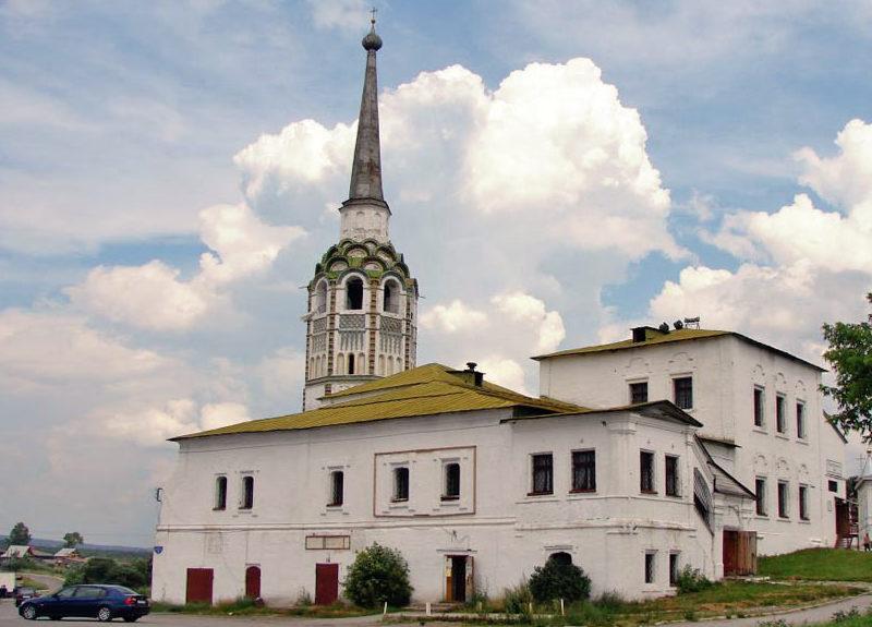 Воскресенская церковь Соликамска