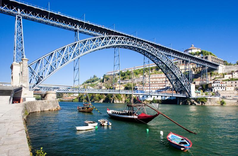 Мост Луиша в Порту