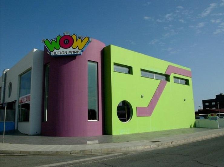 """Развлекательный центр для детей """"Wow Action Park"""" в Ларнаке"""