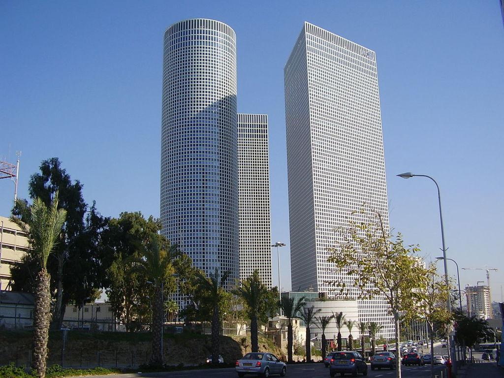 Небоскребы Тель-Авива