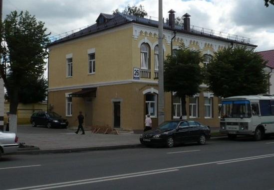 Исторические дома на Советской в Лиде