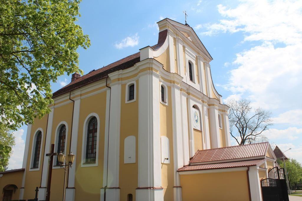 Церковь Воздвижения Святого Креста в Лиде