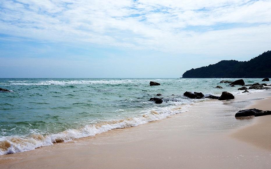 Пляж Бай-Сао на Фукуоке