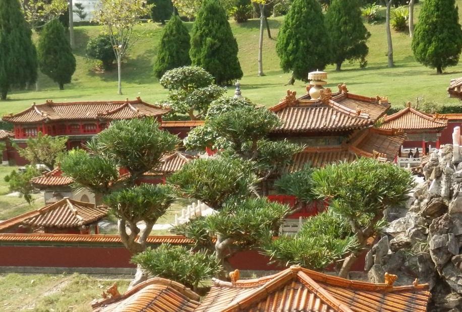 """Парк """"Великолепный Китай"""" в Шэньчжэне"""