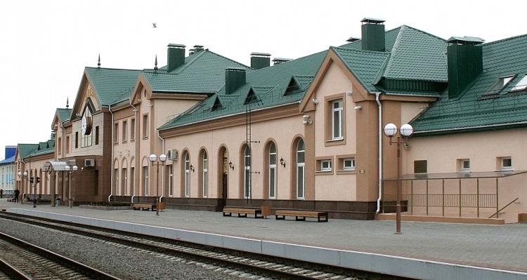 Железнодорожный вокзал Лиды