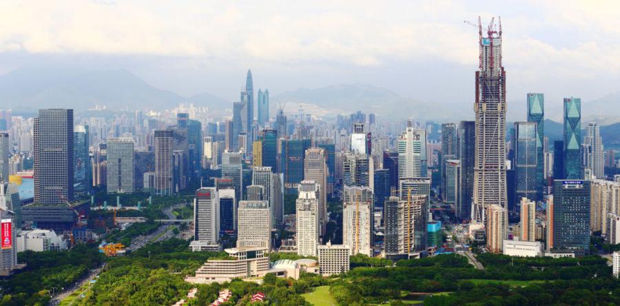 Ультрасовременный мегаполис Шэньчжэнь