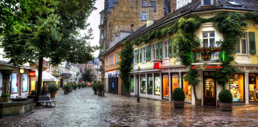 Баден-Баден: украшения знаменитого курорта