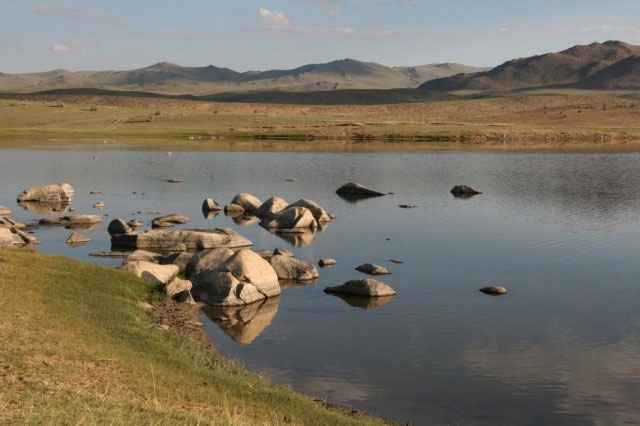 Озеро Шара-Нур на Ольхоне