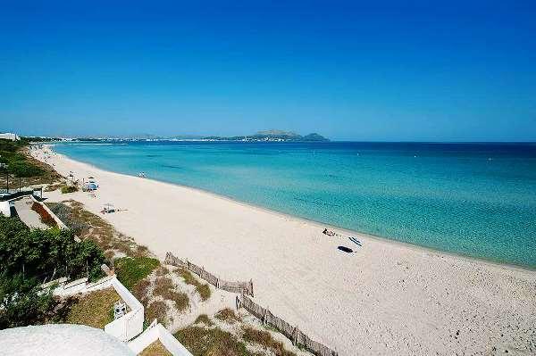 пляжи Пальма де Майорка
