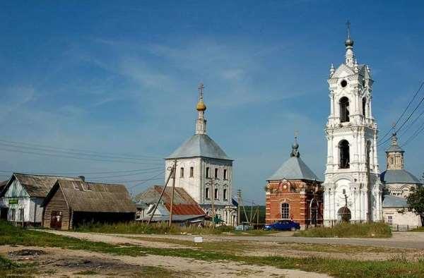 церкви села Погост