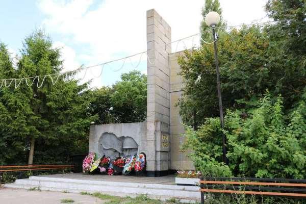 памятник бойцам ВОВ