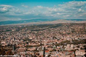 Вид на Тбилиси фото