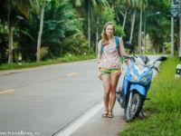 Аренда байка на острове Панган в Таиланде