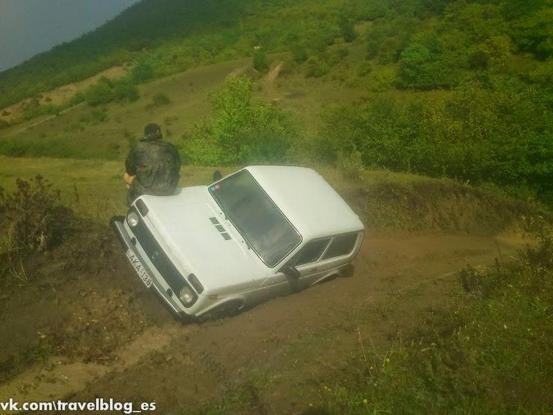 Дорога к морю - автостопом по Грузии
