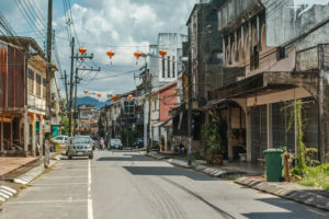улица города Такуа Па