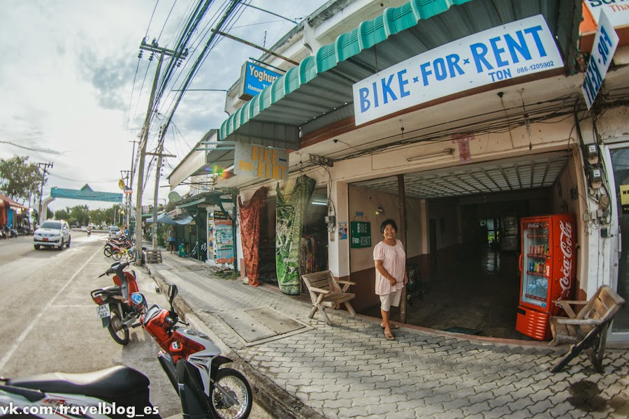 Ton bike for rent