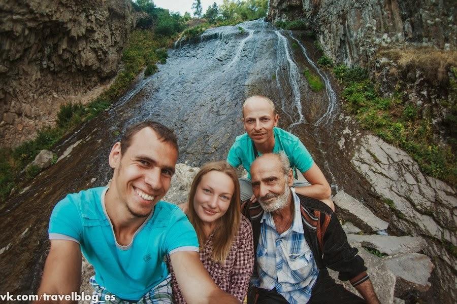 Дорога в Джермук, Кечутское водохранилилище и Джермукский водопад