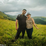 Друзья в Тавушской области Армении