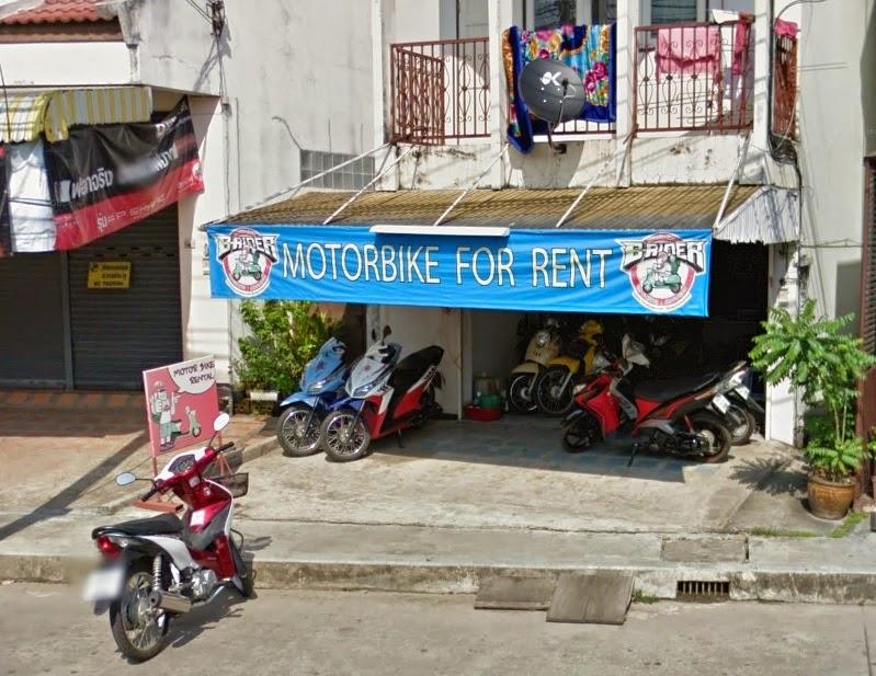 аренда байка в Чианг Рае фото