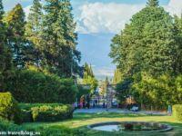 Цинандали: прекрасные сады и старинная усадьба