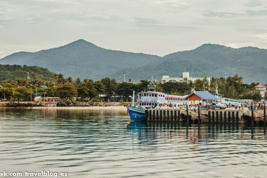 Сураттани - начало нашего путешествия по Таиланду