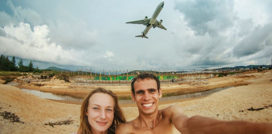 Пляж Май Кхао – там где взлетают самолёты